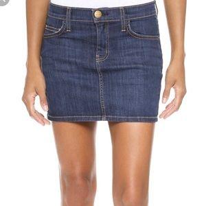 Current/Elliot denim mini skirt